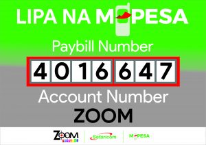 Mpesa Paybill